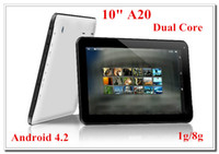 Wholesale Cheap Inch Allwinner A20 Tablet PC Android Dual Core Dual Camera x600 Ghz G G HDMI Capacitive screen factory price