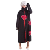 Wholesale S5Q Cosplay Naruto Akatsuki Orochimaru Uchiha Madara Sasuke Itachi Cloak Clothes New AAACHL