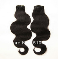 Wholesale AAAA quot Brazilian Virgin Hair Body Wavy Virgin Remy Human Hair Weave Extension DHL