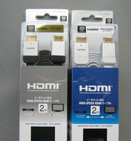 Wholesale HDMI Cable With Ethernet Version Male To Male MHL To HDMI m PVC x1080P Khz For DVD TV Digital Camera Computer Speaker STB PS3