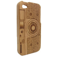 wood bamboo samples - Hot Natural bamboo wood case Handcraft wooden iphone case for iphone5 G iphone5S iphone S