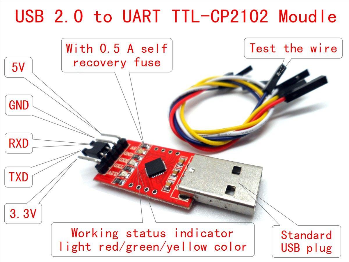 Usb to ttl converter схема