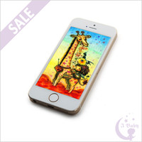 Wholesale 4 inch S Goophone i5S IOS7 Dual Core MTK6577 GHz GB QHD GPS WiFi G WCDMA Single Nano Sim Card MP Camera Smart Phone