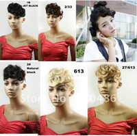 Wholesale Best Selling New Hair Bangs Fringe For Lady s Curly Blonde Bang