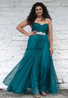 Wholesale 2014 hot black friday sale chiffon beads sash Plus Size prom Dresses evening party pageant gown Christmas high quality