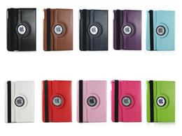 Wholesale Best Price Apple iPad Rotate The New iPad ipad air ipad ipad mini Retina Rotating Magnetic PU Leather Case Smart Cover case
