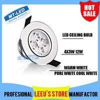 Wholesale X20 DHL High power Led ceiling lamp W leds Led Bulb V LED lighting led light spotlight down light with led drive