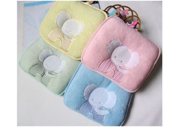 Wholesale cotton towels pet pillow SOFTLINE baby pillow Newborn elephant cotton solidify Pillow Cushion