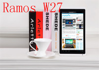 Wholesale 10 quot RAMOS W27 tablet PC with AML8726M MX Dual core ARM Cortex A9 up to GHz G RAM G Flash WiF From Imgirl
