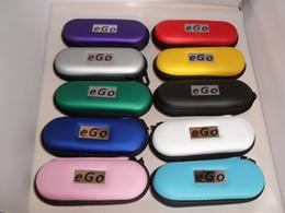 Promotion porter coloré Meilleur prix 10 couleurs coloré sac de cas ego ego cas ego glissière de transport pour la cigarette électronique, E-cigarette cas