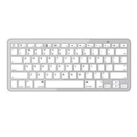 Wholesale S5Q Bluetooth Wireless White Keyboard for PC Macbook Mac ipad iPhone S AAABAF