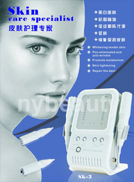 Wholesale RF Skin Specialist Facial Promotion Electroportion Wrinkle Removal Skin Tighten Anti Acne No needle Mesotherapy Lady MOQ PC Beauty Device