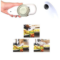 Wholesale S5Q One Touch Automatic Electric Tin Can Opener Jar Grip Hands Free Tool New AAAAFQ