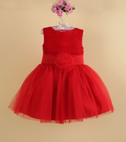 Fashion Wedding Party baby girl evening Dresses with flower ...