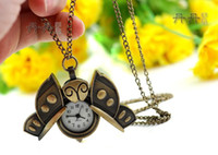 Butterfly necklace watchfree shipping