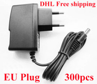 Wholesale High Quality AC V to DC V A V A V A V A Power Adapter Supply V A adaptor Europe EU plug DHL