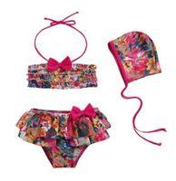 Cheap Girl floral swimwear Best swimwear 5 sizes strap swimwear