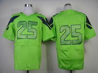 Wholesale Green Elite Jerseys American Football Jerseys Brand Mens Sports Jerseys All Team Players Jerseys Mix Order New
