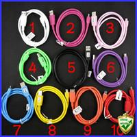 Universal   Universal Micro USB data Charging cable for Smart Phone Samsung HTC LG Motorola ZTE etc 1M 10 Cores Transfer datas Fast