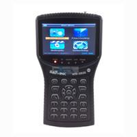 Wholesale Signal meter finder satlink DVB T HD Mpe4 h finder meter TERRESTRIAL SIGNAL FINDER DVB T WS