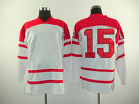 Wholesale Dany Heatley Red Team Canada Hockey Jersey Olympic Hockey Jerseys Newest Athletic Apparel High Quality Cheap Sports Shirts Mix Order