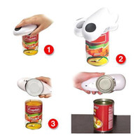 Wholesale S5Q One Touch Automatic Electric Tin Can Opener Jar Grip Hands Free Tool AAAAFQ