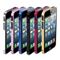 Wholesale S5Q Aluminum Metal Bumper Frame Case Cover Protector For Apple iPhone G AAACHI