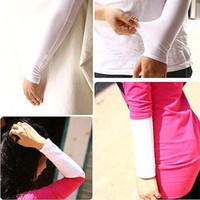 Wholesale S5Q Pair UV Sun Protection Outdoor Sports Cover Cooling Fashion Arm Sleeves AAAAKY