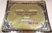 Wholesale New Gold Crystal Collagen Facial Mask Face Masks whitening moisturizing wrinkle