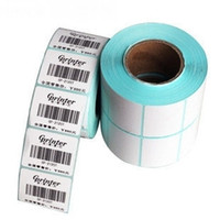 Wholesale 200pcs free fedex mm sticker Label labels Roll Thermal Label for Bar Code Printer barcode thermal printer label printer