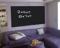 Removable wall board - 45x200cm Blackboard Chalkboard Wall Paper Sticker Decoration Removable fancy drawing board Creative Graffiti Blackboard Wall Stickers Hot