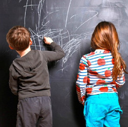 Wholesale Waterproof environmental blackboard stickers Vinyl Chalkboard Wall Stickers Removable Blackboard Decals Great Gift for Kids CMx200CM
