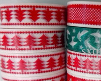 Wholesale 10pcs M hight quality washi tape christmas style festival wedding decoration gift packing album DIY decoration tape