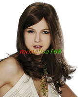 Wholesale Freeshipping Gorgeous Heat Friendly Synthetic Lace Front Sexy Wave Hair Wigs