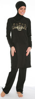 Wholesale For swimsuit for muslim islamic swimsuits islamic swimwear muslim full cover beachwear burkini