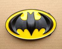 batman yellow belt - Raised Black and yellow Batman High Quality Belt Buckle