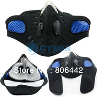 Wholesale Ski Cycling Bicycle Bike Motorcycle Face Mask Anti pollution Outdoor Sports Mouth muffle Dustproof Filter TK1049