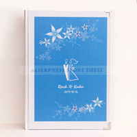 Wholesale Summer Theme Customized amp Personalized High Quality Guest book Print Photo For Wedding Ceremony Retails