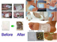 Wholesale Retail box Boxes Cleansing Detox Foot Pads Cleanse Energize Your Body Box Patches DHL