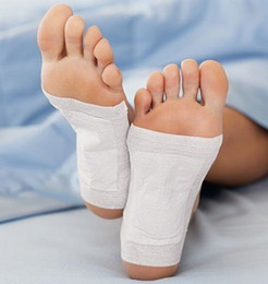 Wholesale DHL Boxes Cleansing Detox Foot Pads Cleanse Energize Your Body Box Patches With Ratial Box