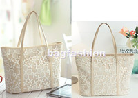 Wholesale leather lace handbags fashion designer totes shoulder bags design bags drop shipping Abie