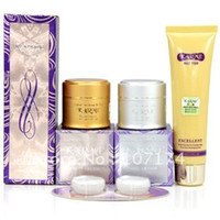 Wholesale karme Qiao beauty skin lightening Set Day Cream Night Cream Cleanser