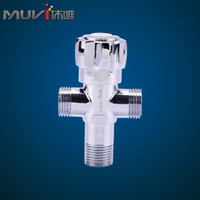 Wholesale Bathroom triangle valve angle valve copper thickening valve jf8502