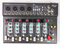 Wholesale F7 Channel Mixing Console Mixer Console DJ Karaoke Music Power Mixer For Stage Home Karaoke