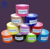 Elbow & Knee Pads Yes Guangdong, China (Mainland) 10pc 5cm*5m kinesio tex tape athletic tapes kinesiology sport taping strapping good quality football exercise muscle kinesiotape