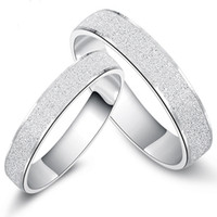 mu us designed 925 years romantic couple rings silver male female silver wedding ring seiko quality - Female Wedding Rings