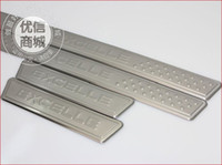 Wholesale Buick Excelle Stainless Steel Scuff Plate Door Sill christmas gift high quality