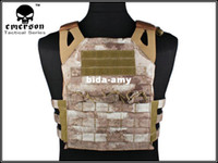 Wholesale 1000D Airsoft JPC Tactical Vest Simplefied Version A TACS free ship