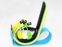 2GB--32GB usb wristband - Colorful Wristband Style Flash Drives USB Flash Drives Pendrive DHL FEDEX EMS