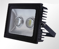 Wholesale 100w high power flood light tunnel light Square plaza lamp with lens waterproof IP65 bridgelux45mil x50w DHL